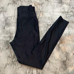 American Apparel High Waisted Disco Pant Leggings